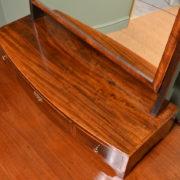 Regency Mahogany Antique Dressing Table Mirror
