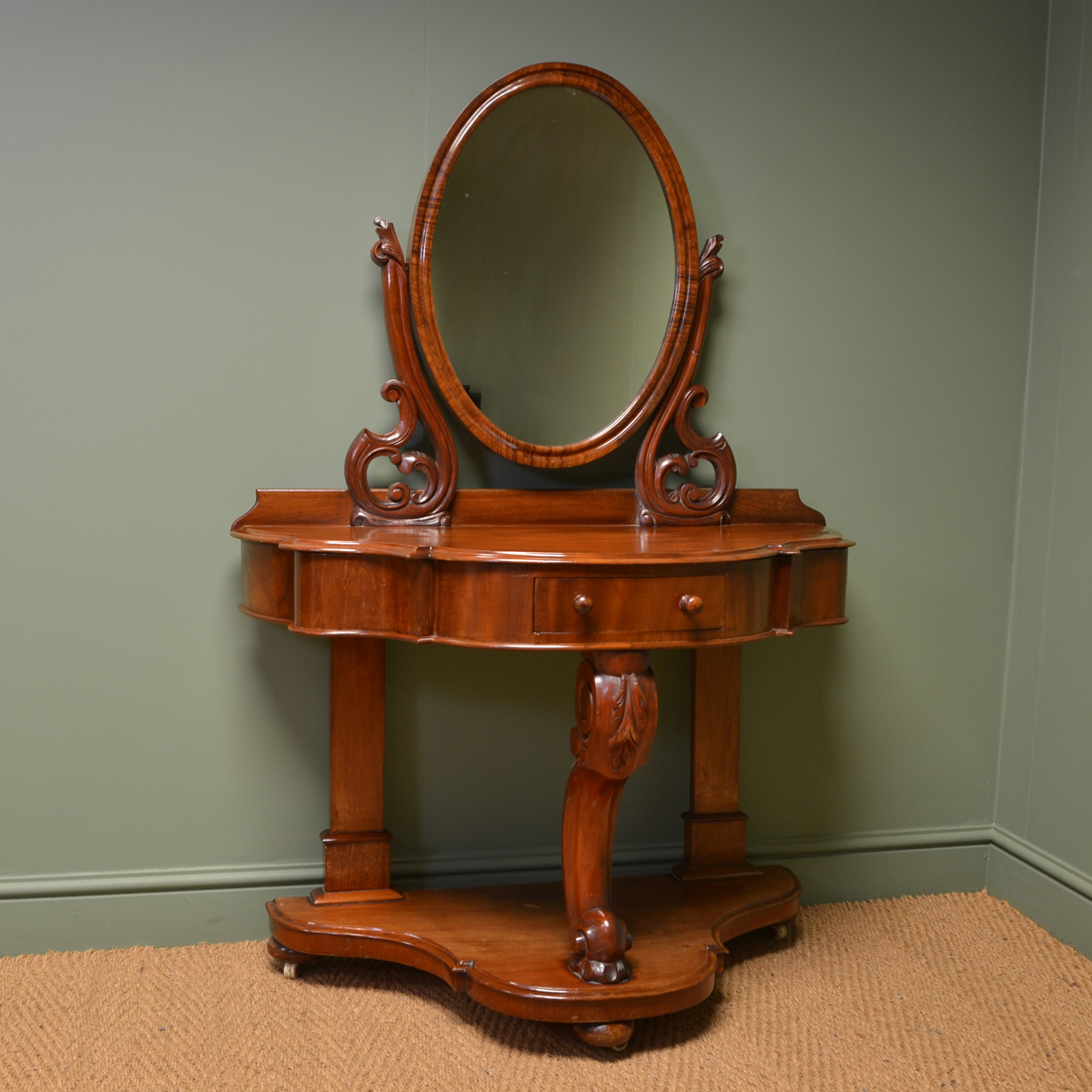 Victorian Mahogany Duchess Dressing Table