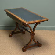 Stunning Rosewood Antique Victorian Console / Writing / Library Table