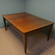 Stunning Victorian Inlaid Mahogany Antique Extending Dining Table