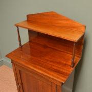 Unusual Small Regency Mahogany Antique Chiffonier / Cupboard