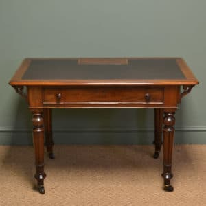 Spectacular Edwardian Inlaid Mahogany Antique Bureau Desk