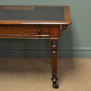 Quality Victorian Mahogany Antique Writing Table