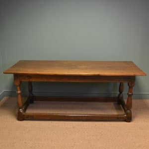 Eighteenth Century Large Period Oak Antique Refectory Table