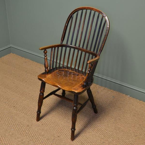 Georgian Wheel Back Antique Windsor Chair