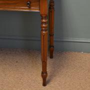 Elegant Regency Mahogany Tulip Leg Antique Writing / Side Table