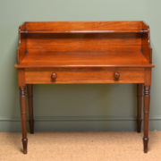 Superb Quality Regency Mahogany Antique Writing Table