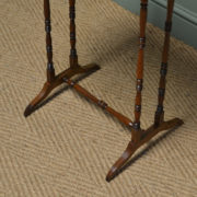 Small Victorian Rosewood Antique Occasional Table