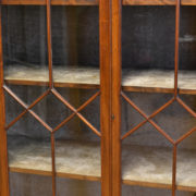 Unusual High Quality Edwardian Walnut Antique Display Cabinet