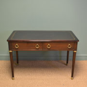 Elegant Antique Writing Table