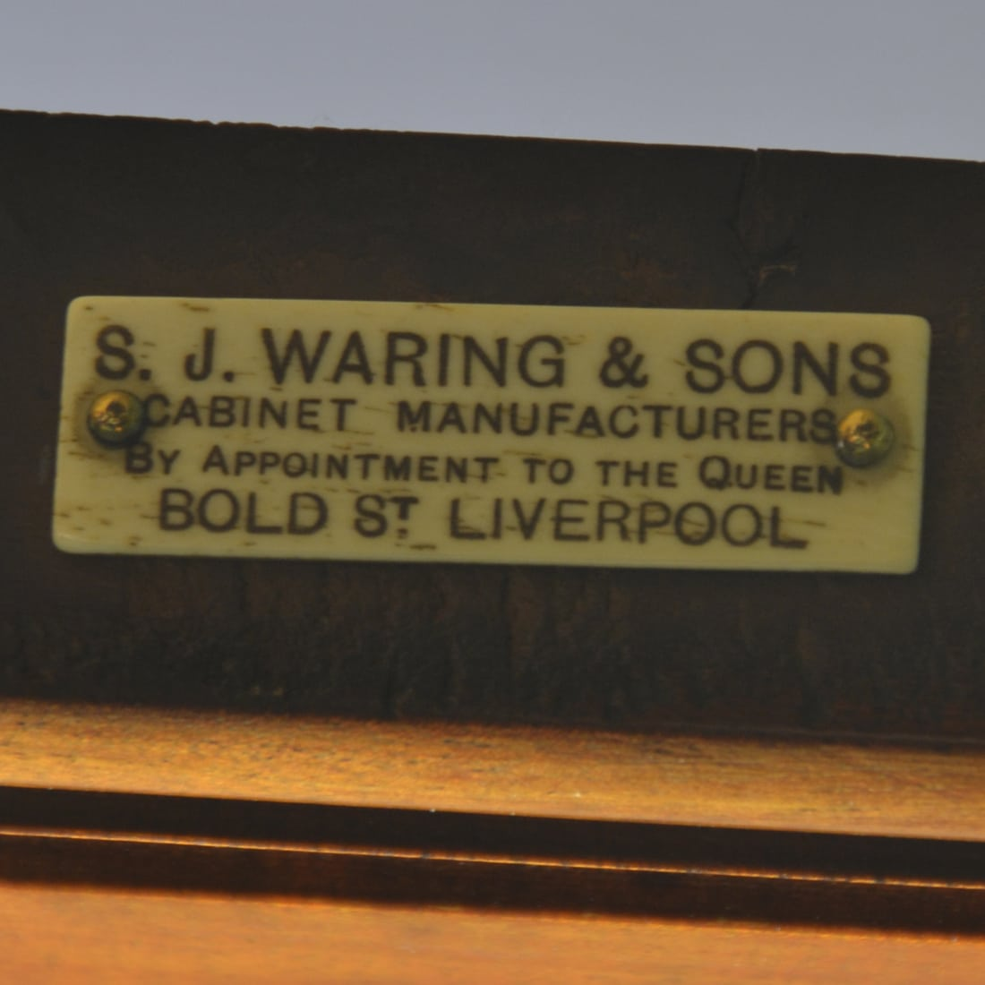 S.J.Waring & Sons