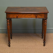 Small Victorian Mahogany Antique Side / Lamp Table