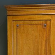 Superb Quality Figured Walnut Antique Edwardian Linen Press By Sopwith & Co