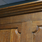 Huge Georgian Antique Oak Harness Cupboard