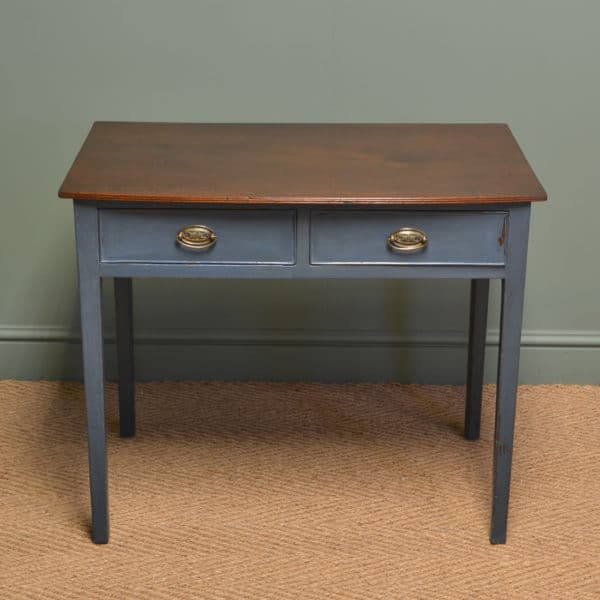 Country Painted Regency Antique Side Table