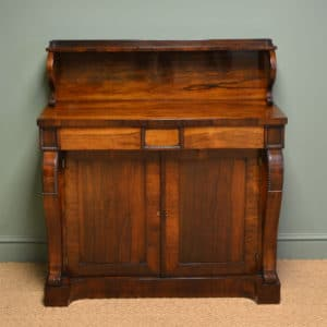 View Stunning Early Victorian Figured Rosewood Antique Chiffonier / Cupboard