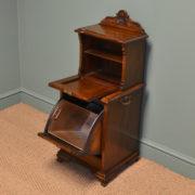 Quality Victorian Walnut Antique Coal Purdonium