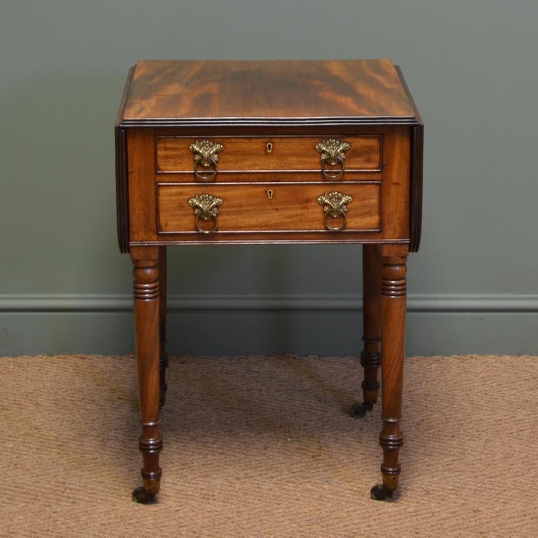 Beautiful Regency Mahogany Small Antique Sofa Table