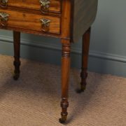 Beautiful Regency Mahogany Small Antique Sofa Table