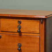 Victorian Walnut Antique Chest Of Drawers