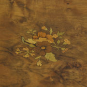 Spectacular Victorian Inlaid Walnut Antique Occasional Table