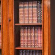 Beautiful Victorian Mahogany Antique Glazed Bookcase on Cupboard