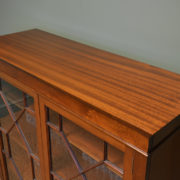 Superb Quality Edwardian Figured Mahogany Antique Astragal Glazed Bookcase