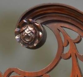 Rosette carving