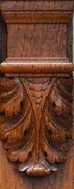 carved corbel