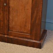 Remarkable Regency Figured Mahogany Antique Chiffonier / Cupboard
