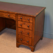 Quality Figured Mahogany Antique Desk