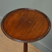 Elegant Edwardian Mahogany Antique Jardiniere / Plant / Lamp Stand
