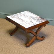 Victorian Rosewood Antique Coffee Table