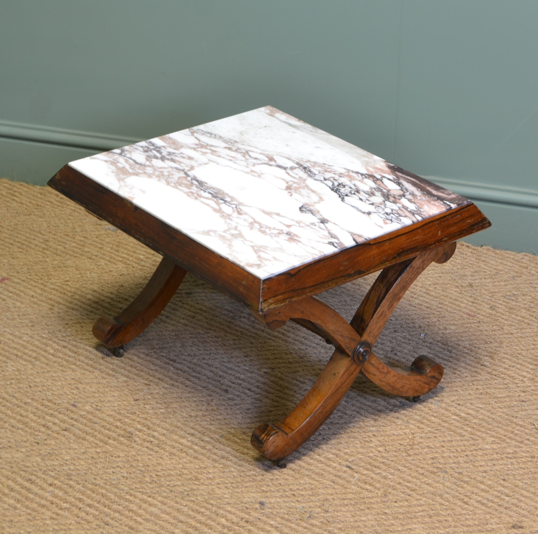Victorian Rosewood Antique Coffee Table Antiques World