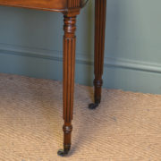 Fine Quality Gillows Design Antique Mahogany Regency Side / Tea Table