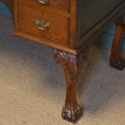 Spectacular Victorian Oak Antique Desk