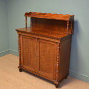 Beautiful Regency Country House Mahogany Antique Chiffonier / Cupboard