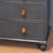 High Quality Victorian Painted Antique Chest Of Drawers