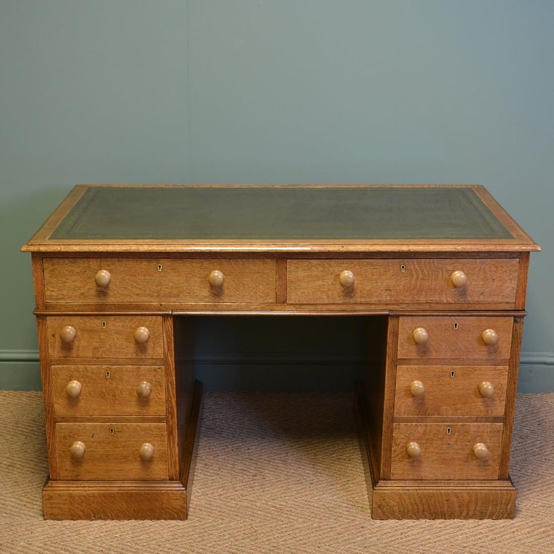 Antique Edwardian Desks
