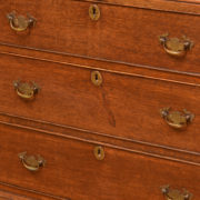 Country House Small Welsh Georgian Oak Antique Chest on Chest