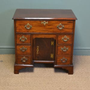 Quality George III Mahogany Antique Writing Desk