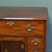 Quality George III Mahogany Antique Writing Desk