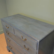 Quality Georgian Painted Antique Chest Of Drawers