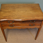 George III Walnut Antique Low Boy / Side Table