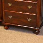 Large Figured Mahogany Quality Antique Victorian Sideboard