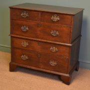 Early Eighteenth Century Period Oak Country House Antique Chest Of Drawers