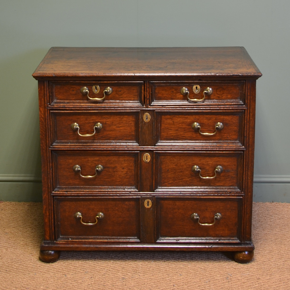 Early 18th Century Country House Antique Oak Chest Of Drawers. Antique  Country Furniture - Antique Country Furniture - Antiques World