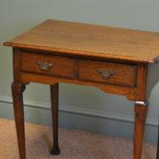 Georgian Oak Antique Low Boy / Side Table