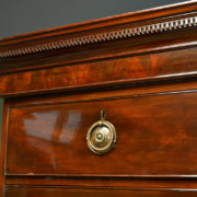 Spectacular Georgian Rich Mahogany Antique Chest On Chest