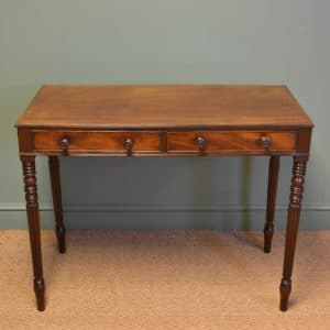 Gillows Design Antique Regency Mahogany Writing Table
